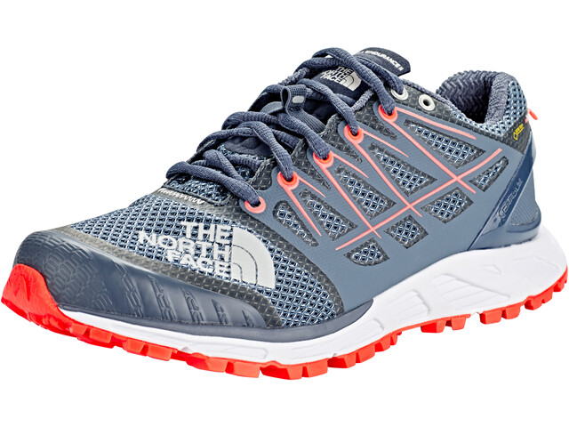 The North Face Ultra Endurance II GTX Zapatillas Mujer, grisaille grey/fiery coral